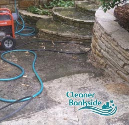 stone patio cleaning bankside